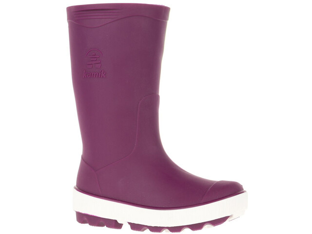 Kamik Riptide Rubber Boots Kinder dark purple